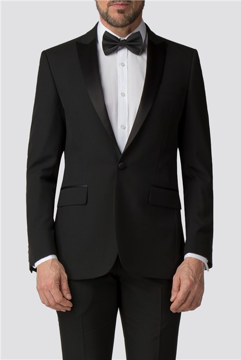 Scott & Taylor Regular Fit Black Tuxedo Jacket
