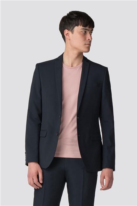 Limehaus Navy Panama Skinny Fit Suit