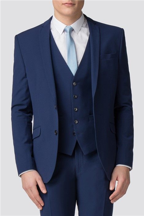 Occasions Blue Skinny Fit Suit