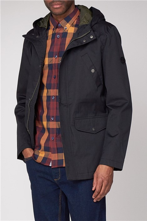 Ben Sherman 4 Pocket Coated Cotton Jacket
