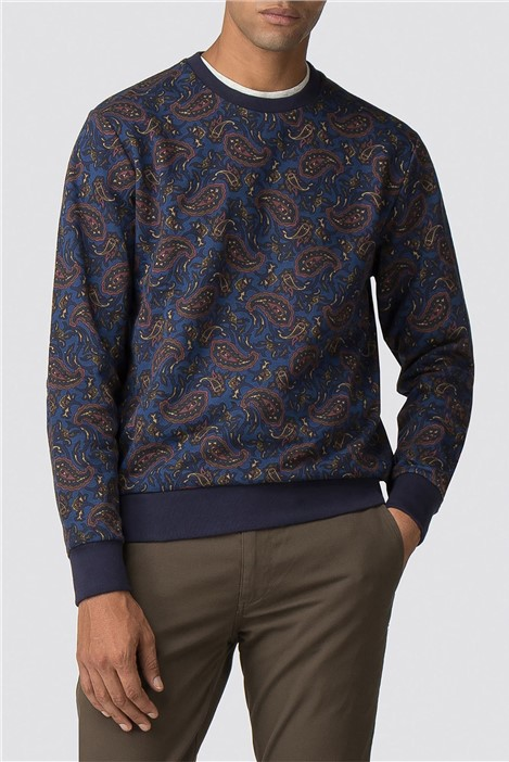 Ben Sherman Paisley Printed Sweatshirt