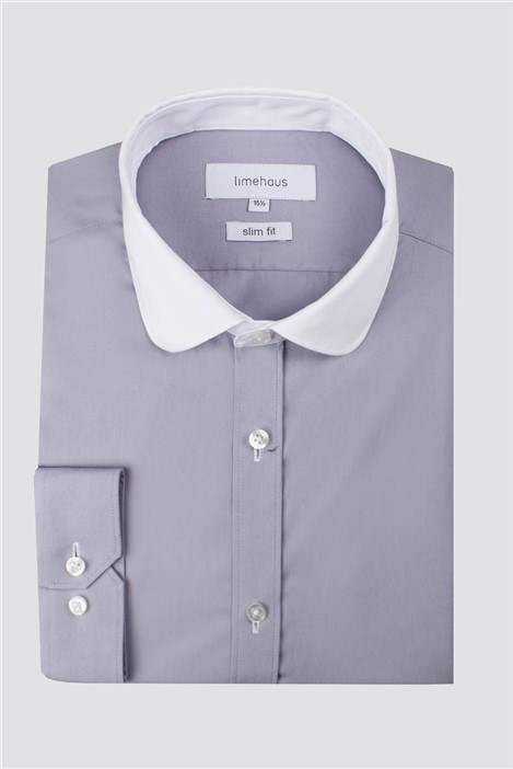 Limehaus Grey Penny Round Shirt