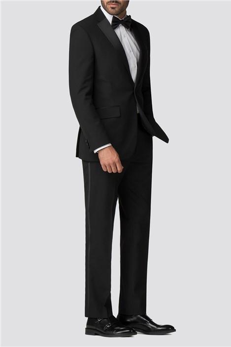 Occasions Black Regular Fit Tuxedo