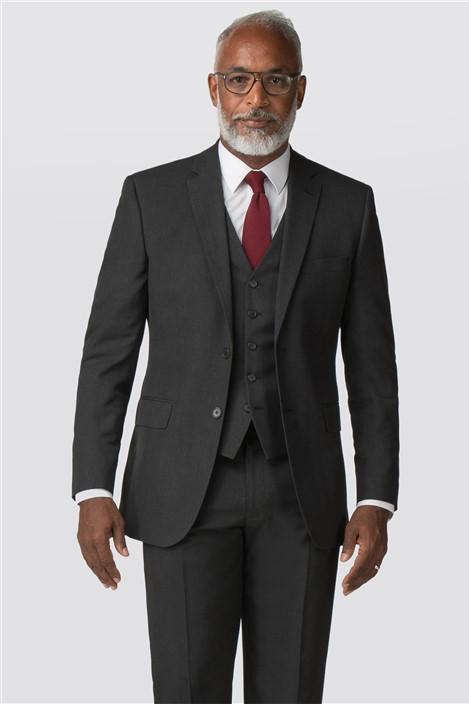 Racing Green Charcoal Regular Fit Suit