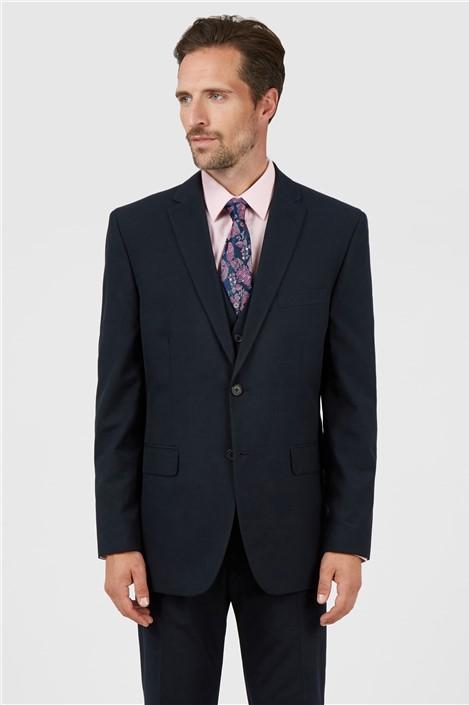 Racing Green Navy Regular Fit Suit