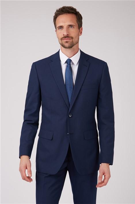 Racing Green Bright Blue Regular Fit Suit