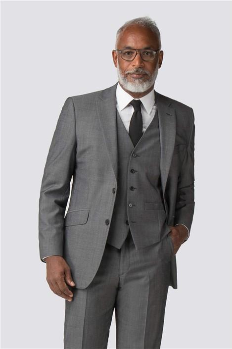 Racing Green Grey Tonic Regular Fit Performance Suit