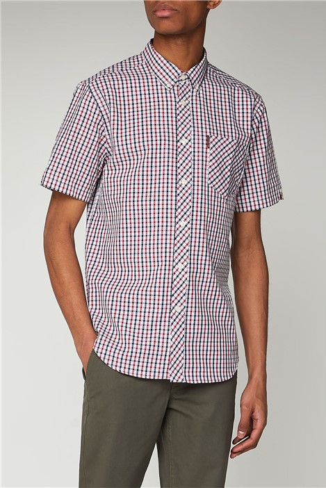 Ben Sherman Short Sleeve House Check Shirt