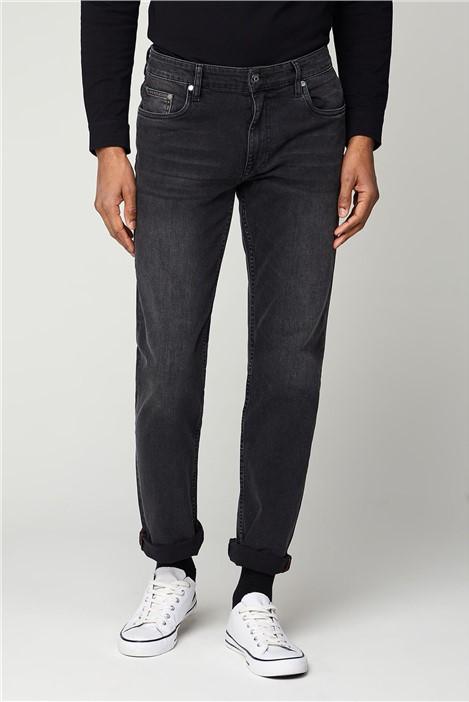 Ben Sherman Grey Straight Fit Jean