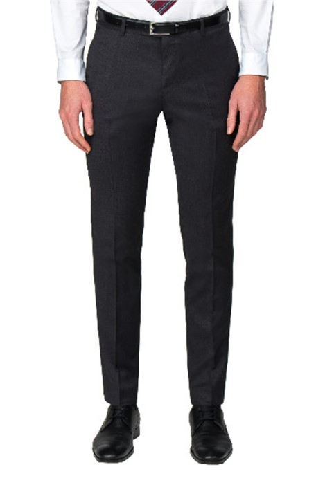 Without Prejudice Fahrenheit Grey Wool Blend Trouser