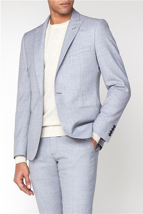 Ben Sherman Cool Grey Texture Camden Suit