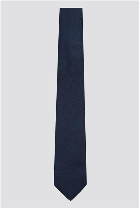 Limehaus Navy Scratch Tie