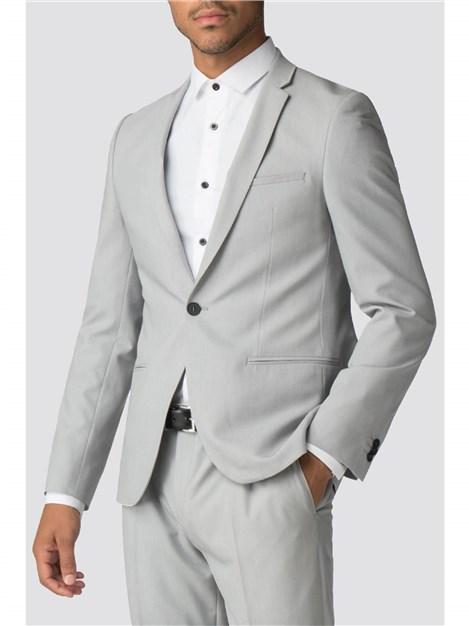 Viggo Berlin Light Grey Skinny Fit Suit