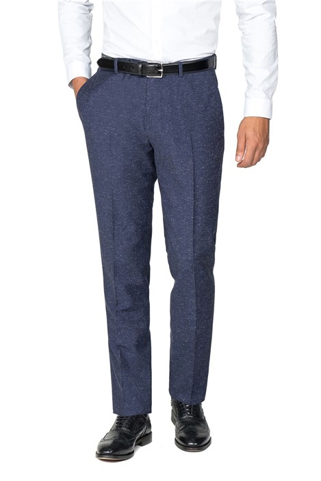 Viggo Stutgart Navy Speckle Trouser Suit