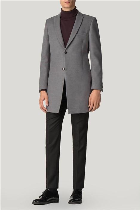 Viggo Sez Grey Overcoat