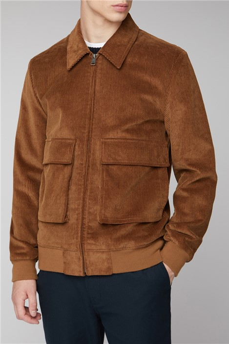 Ben Sherman Brown Cord Jacket