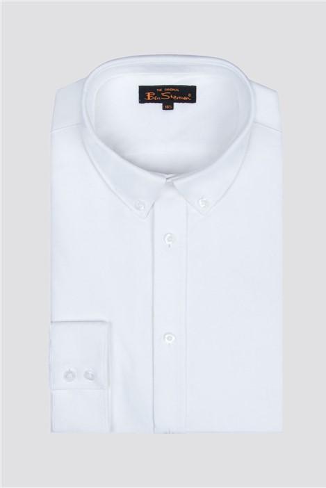 Ben Sherman Long Sleeve Oxford Shirt