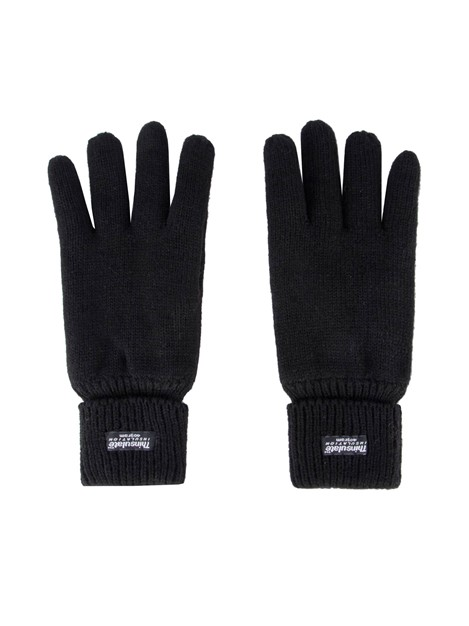 Racing Green Black Thinsulate Gloves