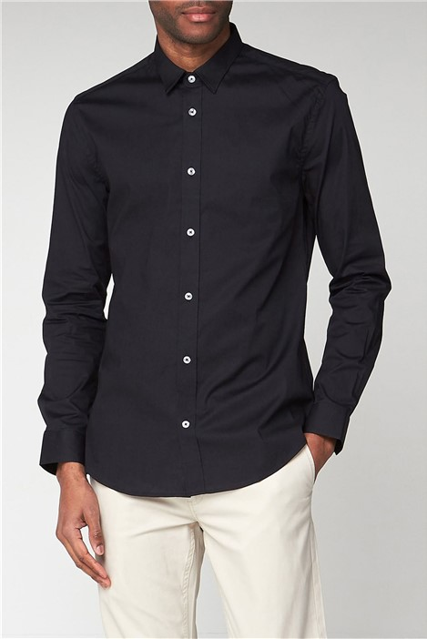 Ben Sherman Black Stretch Shirt