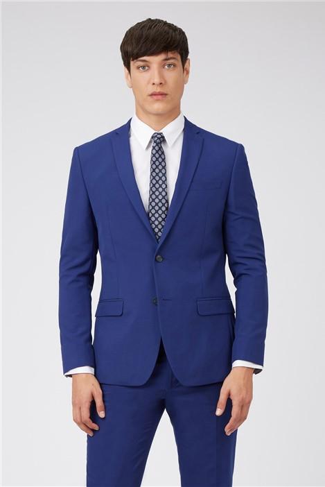 Limehaus Cobalt Blue Slim Fit Prom Suit