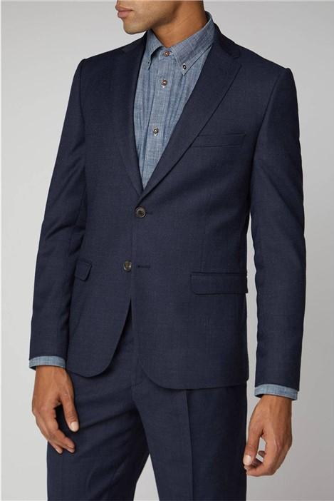 Ben Sherman Navy Flannel Suit