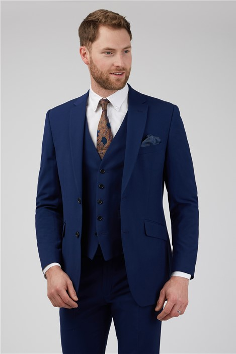 Occasions Blue Wedding Regular Suit