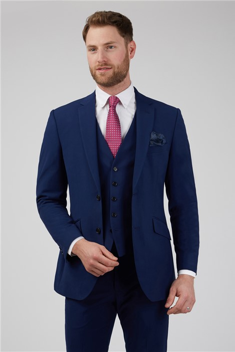 Occasions Blue Wedding Tailored Suit