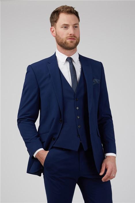 Occasions Blue Wedding Slim Fit Suit