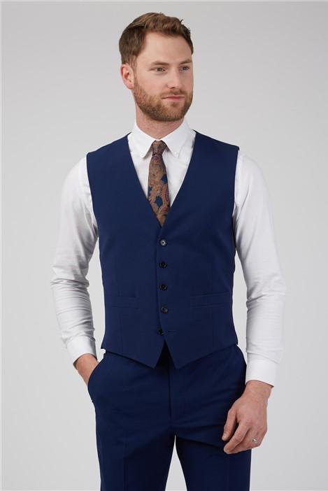 Occasions Blue Wedding Waistcoat