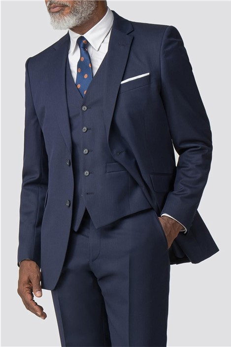 Racing Green Navy Twill Performance Business Suit
