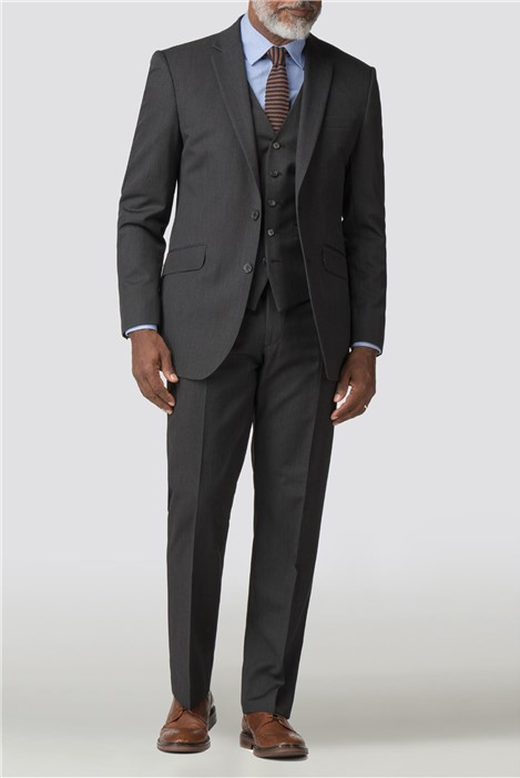 Racing Green Charcoal Twill Performance Suit Jacket