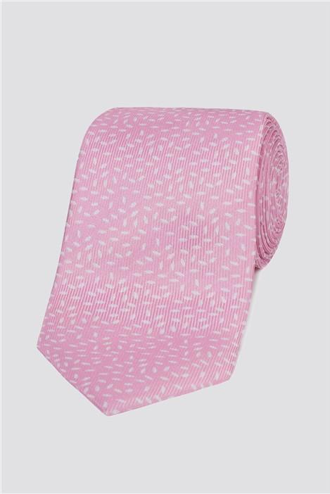 Stvdio Pink Speckle Tie