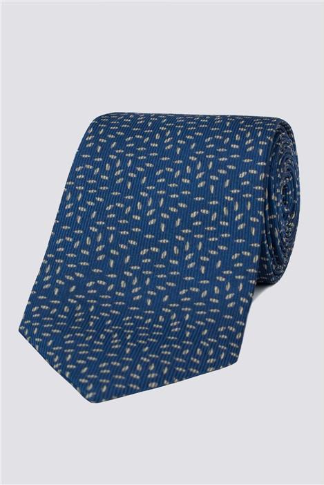 Stvdio Navy Speckle Tie
