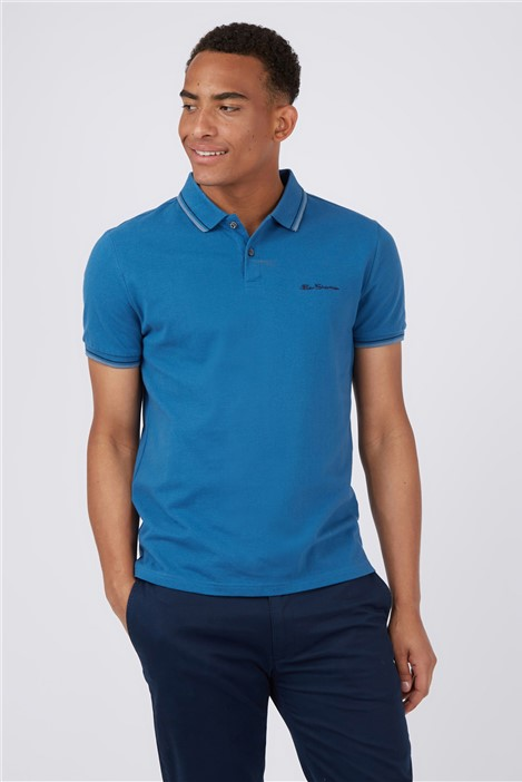 Ben Sherman Royal Blue Signature Polo Shirt
