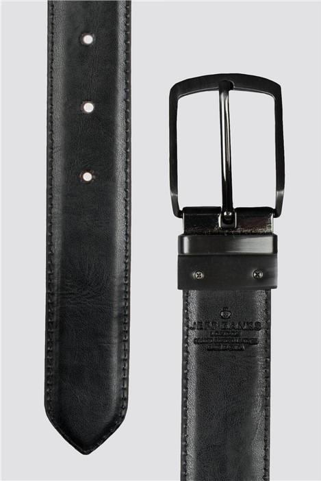 Jeff Banks Tan Black Reversible Belt