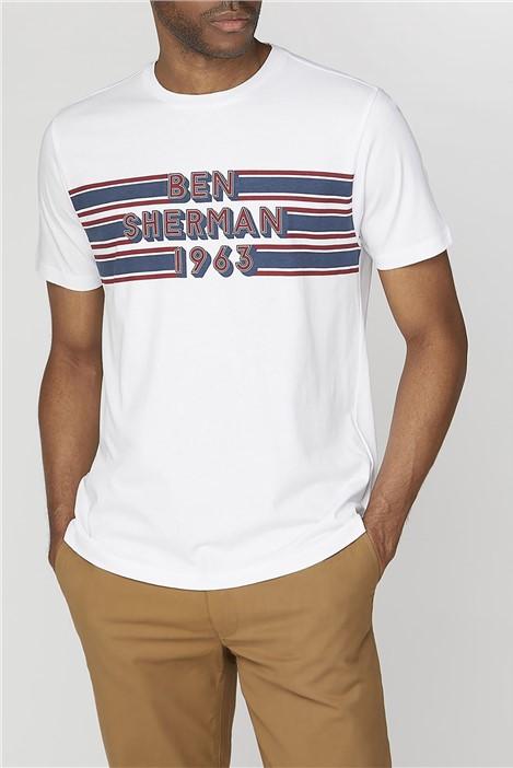 Ben Sherman Retro Chest T-Shirt
