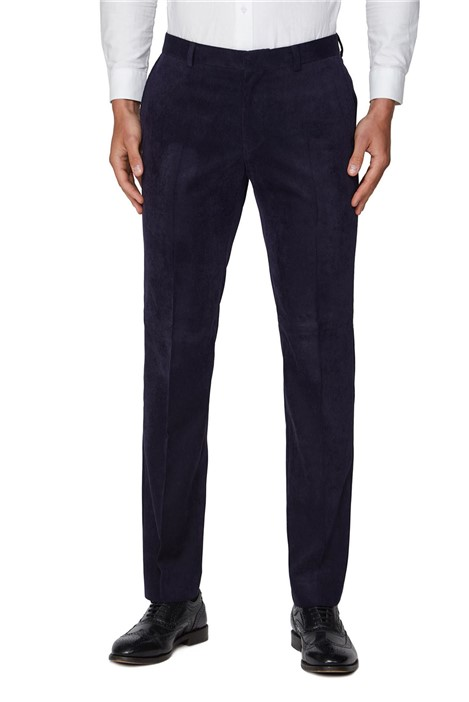 Ben Sherman Navy Cord Slim Fit Suit