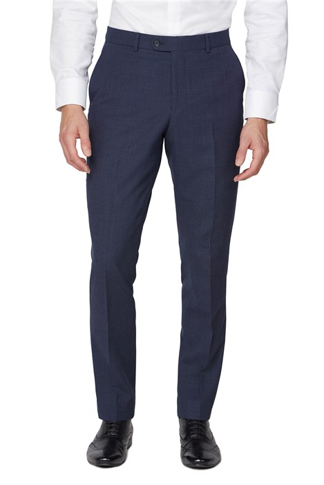 Jeff Banks Navy Airforce Regular Fit Travel Trousers