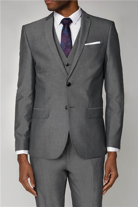 Limehaus Light Grey Tonic Slim Fit Suit