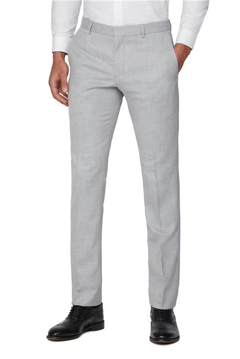 Ben Sherman Cool Grey Structure Skinny Fit Suit