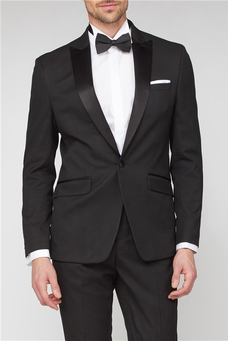 Stvdio Black Jacquard Ivy Men's Tuxedo