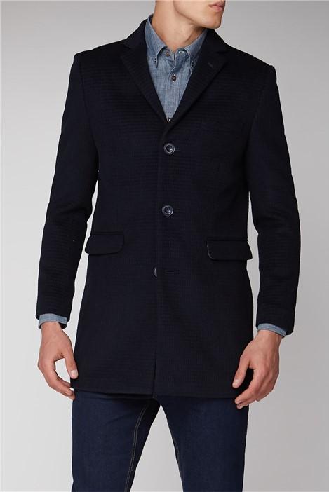 Ben Sherman Navy Overcoat