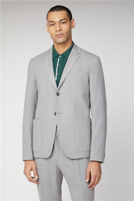 Ben Sherman Light Grey Camden Fit Suit