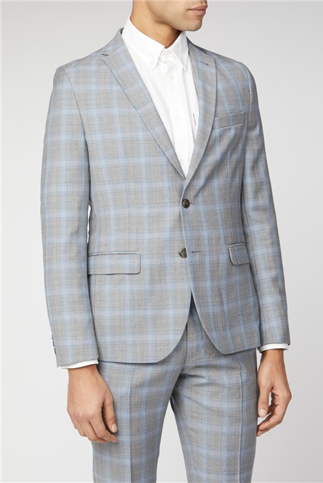 Ben Sherman Signature Tailoring Camden Fit Ice Grey Suit