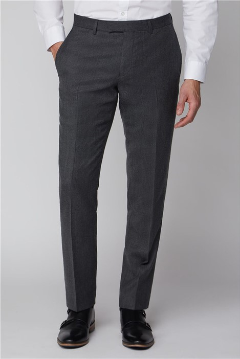Racing Green Charcoal Texture Suit Trouser
