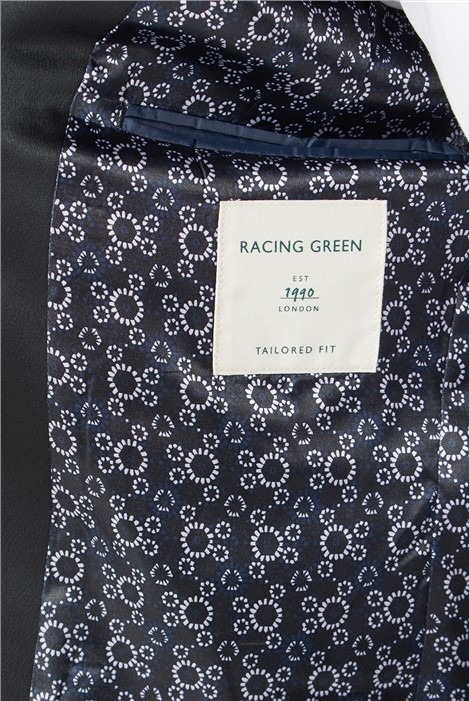 Racing Green Black Texture Dresswear Tailored Fit Suit