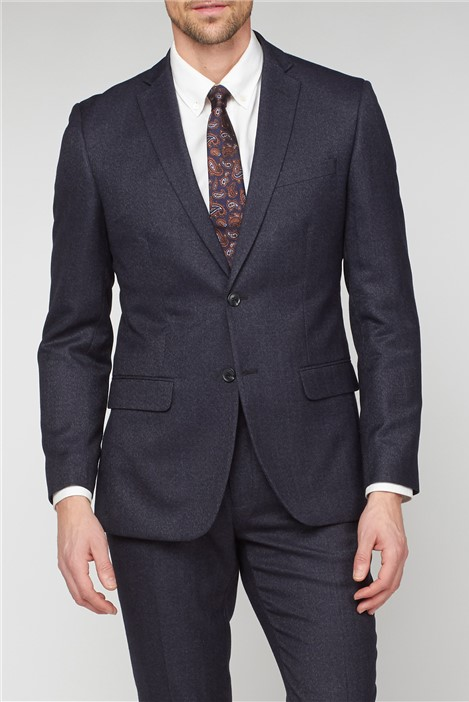 Racing Green Charcoal Semi Plain Tailored Fit Jacket