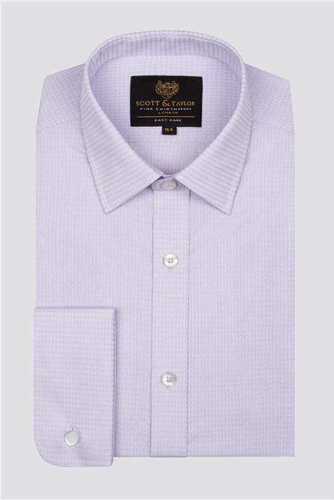 Scott & Taylor Lilac Texture Shirt