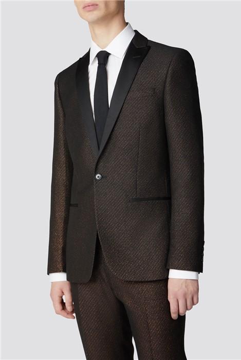 Limehaus Copper Fleck Slim Fit Suit