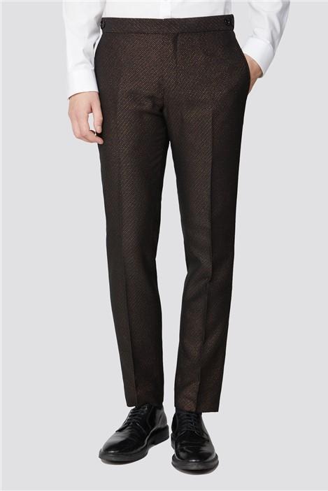 Limehaus Copper Fleck Slim Fit Trouser